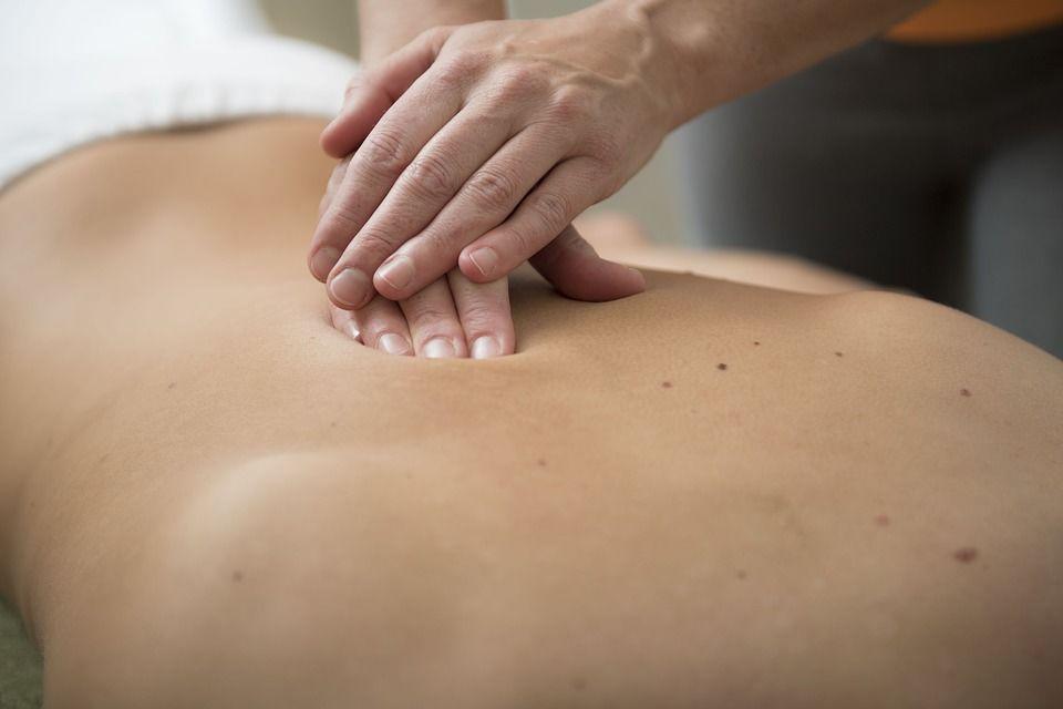 Klasická masáž chrbát