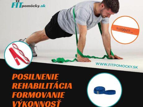 Cvičebné gumy flexvit